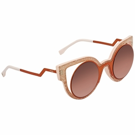 Fendi FF 0137/S NUG494C Paradeyes Ladies  Sunglasses