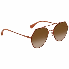 Fendi FF 0194/S 73353 Eyeline Ladies  Sunglasses