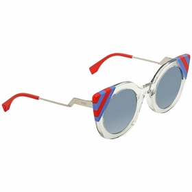 Fendi FF 0240/S 1ED/UY 47 Waves Ladies  Sunglasses