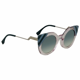 Fendi FF 0240/S 35J/9K 47 Waves Ladies  Sunglasses
