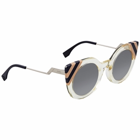 Fendi FF 0240/S 40G/9O 47 Waves Ladies  Sunglasses