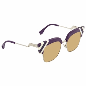 Fendi FF 0241/S B3V/GA 50 Waves Ladies  Sunglasses