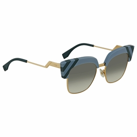 Fendi FF 0241/S MVU/9K 50 Waves Ladies  Sunglasses