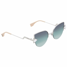 Fendi FF 0242/S VGV/QC 52 Rainbow Ladies  Sunglasses
