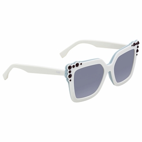 Fendi FF 0260/S 0GA/9O 52 Can Eye Ladies  Sunglasses