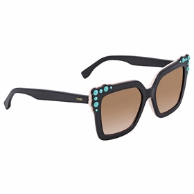 Fendi FF 0260/S 3H2/53 52 Can Eye Ladies  Sunglasses