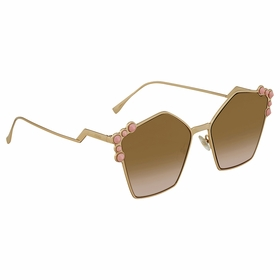 Fendi FF 0261/S 000/53 57 Can Eye Ladies  Sunglasses
