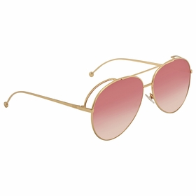 Fendi FF 0286/S 000/3X 63 Run Away Ladies  Sunglasses