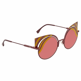 Fendi FF0215/S 00L9 53 Hypnoshine Ladies  Sunglasses