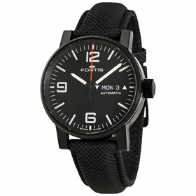 Fortis 623.18.18 LP.10 Spacematic Stealth Mens Automatic Watch
