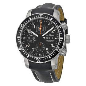 Fortis 638.10.11 L01 Cosmonauts Mens Chronograph Automatic Watch