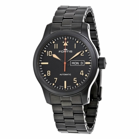 Fortis 655.18.18 M Aeromaster Stealth Mens Automatic Watch