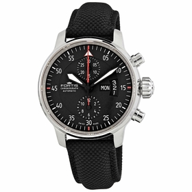 Fortis 705.21.19LP.10 Cockpit Two Mens Chronograph Automatic Watch