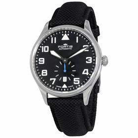 Fortis 901.20.41 LP.10 Pilot Classic Second Mens Automatic Watch