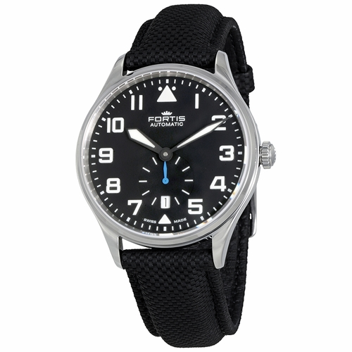 Fortis Pilot Classic Second Automatic Men's Watch