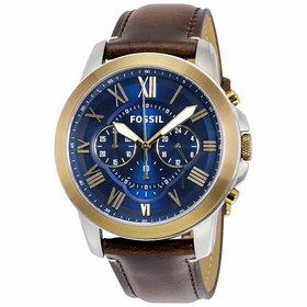 Fossil FS5150 Grant Mens Chronograph Quartz Watch
