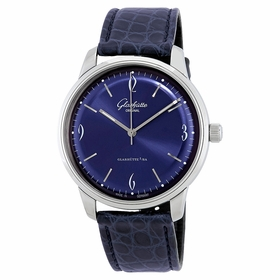Glashutte 39-52-06-02-04 Sixties Mens Automatic Watch