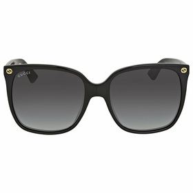 Gucci GG0022S-001 57  Ladies  Sunglasses