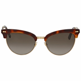 Gucci GG0055S 002 55  Ladies  Sunglasses