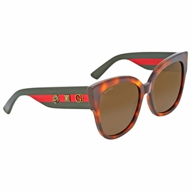Gucci GG0059S 002 55  Ladies  Sunglasses