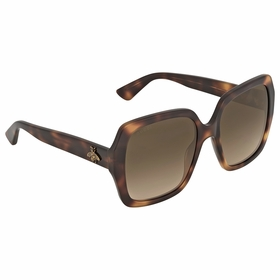 Gucci GG0096S 002 54 GG0096 Ladies  Sunglasses