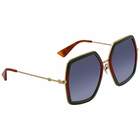 Gucci GG0106S 007 56  Ladies  Sunglasses