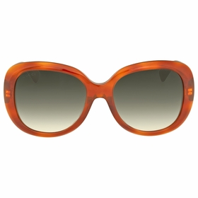 Gucci GG0140SA 002 55 GG0140SA Ladies  Sunglasses