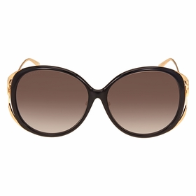 Gucci GG0226SK-001 60  Ladies  Sunglasses