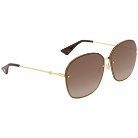 Gucci GG0228S 003 63  Ladies  Sunglasses