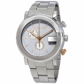 Gucci YA101360 G Mens Chronograph Quartz Watch