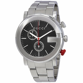 Gucci YA101361 G Mens Chronograph Quartz Watch