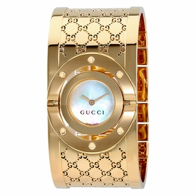 Gucci YA112440 Twirl G-Tone Ladies Quartz Watch