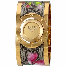 Gucci YA112443 Twirl Bloom Ladies Quartz Watch