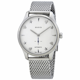 Gucci YA126330 G-Timeless Ladies Automatic Watch