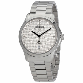 Gucci YA1264024 G-Timeless Diamante Ladies Quartz Watch