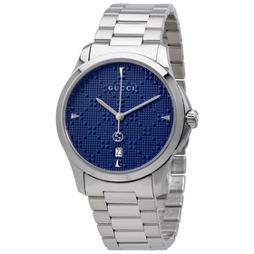 Gucci YA1264025 G-Timeless Diamante Unisex Quartz Watch