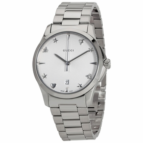 Gucci YA1264028 G-Timeless Ladies Quartz Watch