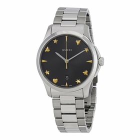 Gucci YA1264029 G Timeless Unisex Quartz Watch