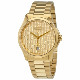 Gucci YA126461 G-Timeless Unisex Quartz Watch