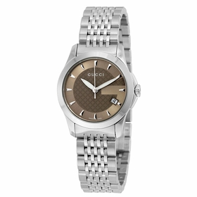 Gucci YA126503 G-Timeless Ladies Quartz Watch