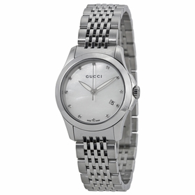 Gucci YA126504 G-Timeless Ladies Quartz Watch