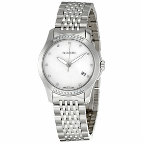 Gucci YA126510 G-Timeless Ladies Quartz Watch