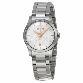 Gucci YA126523 G-Timeless Ladies Quartz Watch