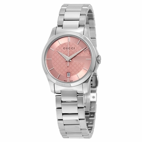 Gucci YA126524 G-Timeless Ladies Quartz Watch