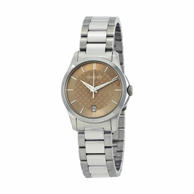 Gucci YA126526 G-Timeless Ladies Quartz Watch