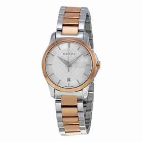 Gucci YA126528 G-Timeless Ladies Quartz Watch