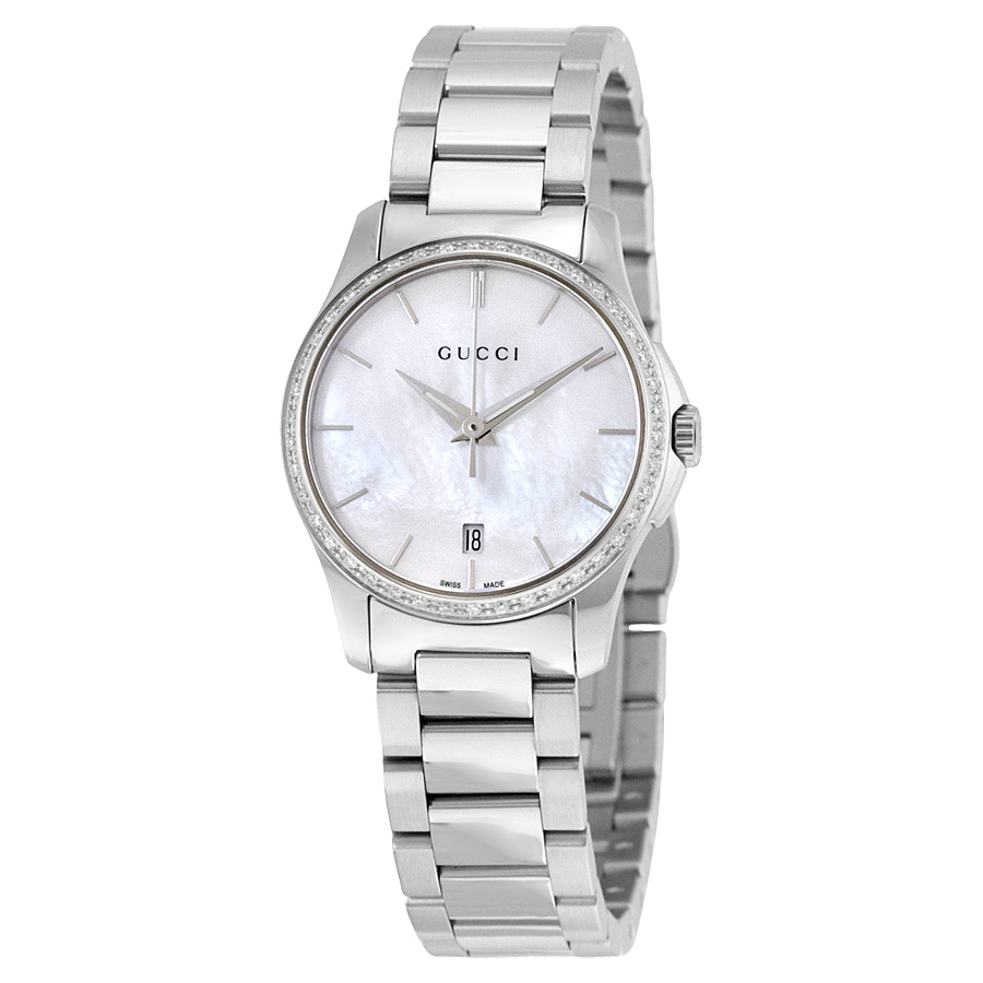 eef8ff30c31 Gucci YA126543 G-Timeless Ladies Quartz Watch
