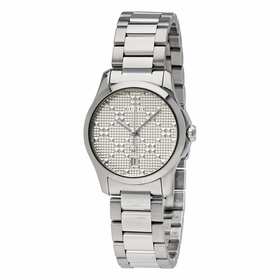 Gucci YA126551 G-Timeless Ladies Quartz Watch