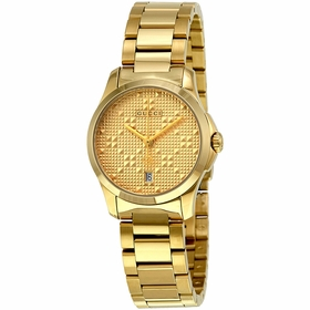 Gucci YA126553 G-Timeless Ladies Quartz Watch