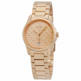 Gucci YA126567 G-Timeless Ladies Quartz Watch